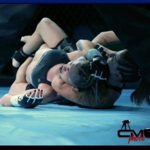 ladies grappling